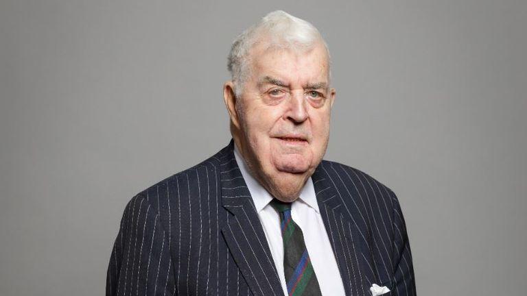 Cross-bench peer Lord Kilclooney. Pic: UK Parliament