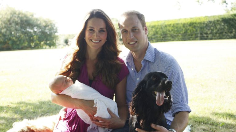 The Duke and Duchess of Cambridge have announced the death of their dog Lupo