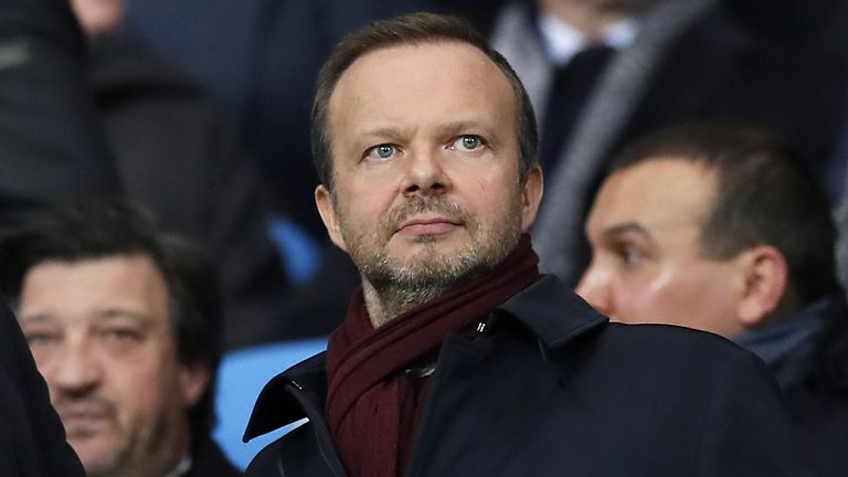 Manchester United chief executive Ed Woodward.
