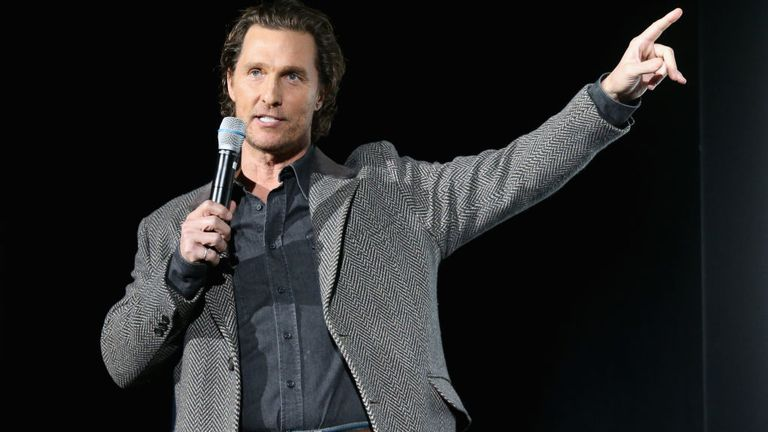 McConaughey called politics a 'broken business'