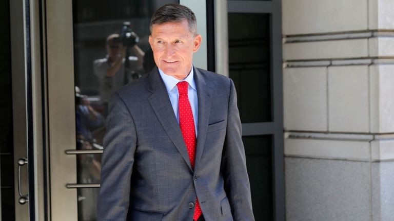Flynn was charged with making a false statement to the FBI by Special Counsel Robert Mueller