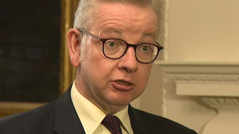 Michael Gove announces nationwide relaxation of coronavirus restrictions over Christmas