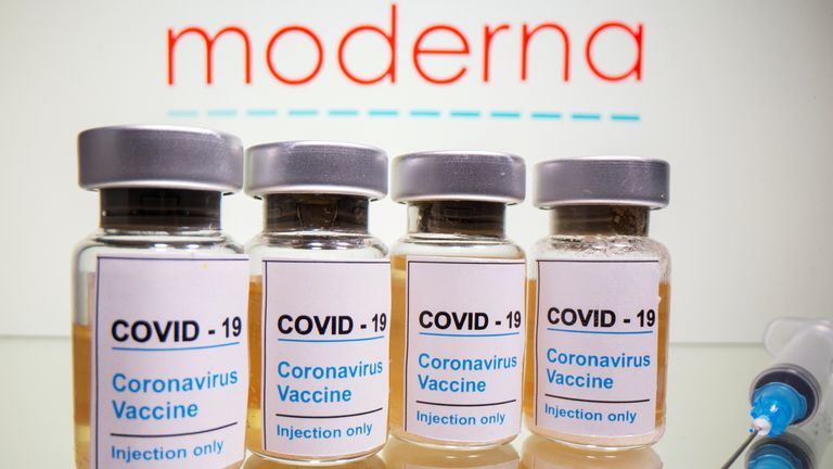 Moderna said its vaccine has shown no serious safety concerns