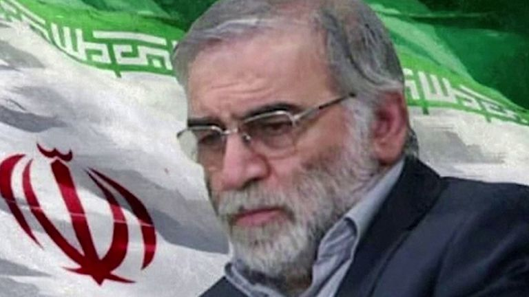 Mohsen Fakhrizadeh died following the attack in Absard, east of Tehran. Pic: ISNA Leader.ir