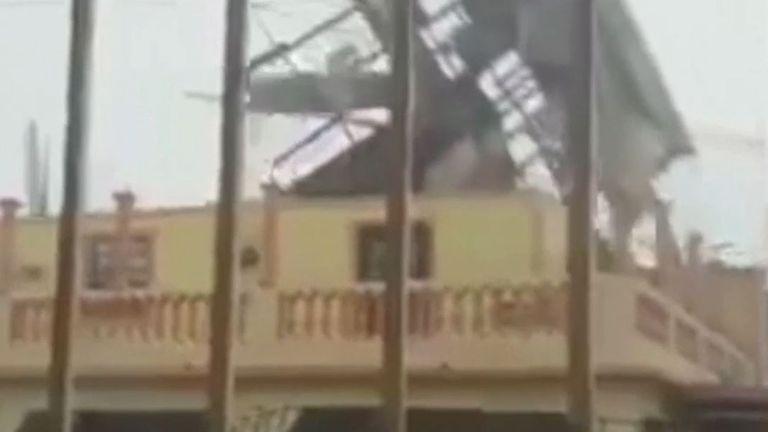 إعصار إيوتا يصل إلى اليابسة في نيكاراغوا برياح 155 ميل في الساعة |  اخبار العالم