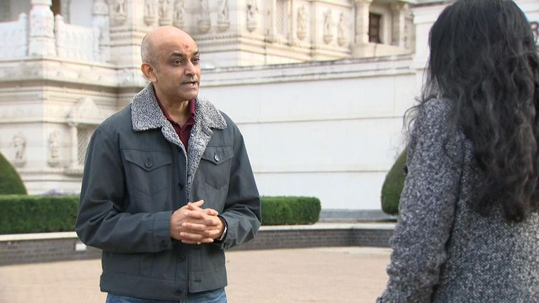 Tarun Patel says celebrations will deliver a 'spiritual message' and 'distil hope'