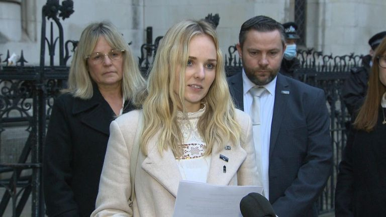 The widow of PC Harper said the 'battle will continue' to make 'Harper's Law' a legal reality