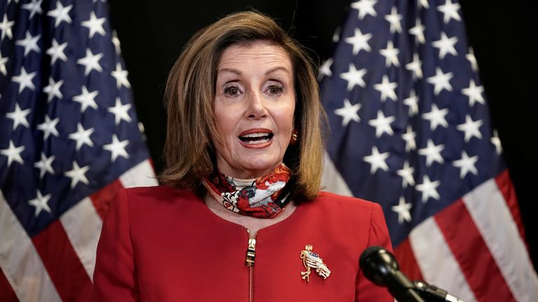 House Speaker Nancye Pelosi says Democrats will retain control of the House