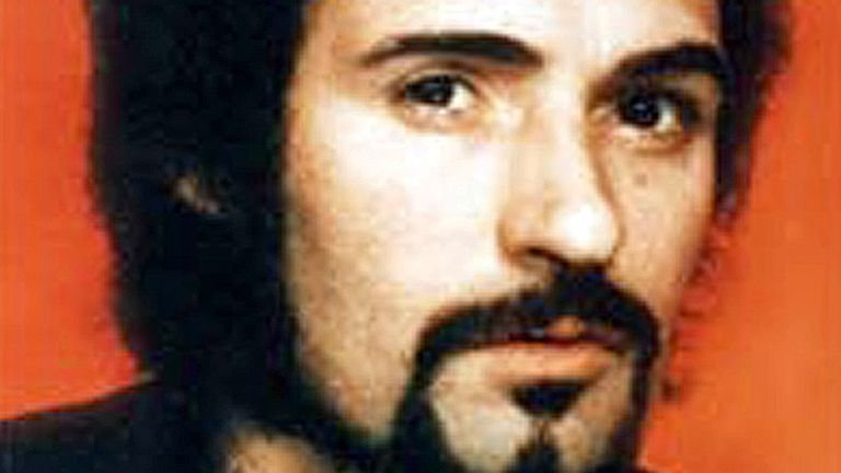 Peter Sutcliffe. Pic: Shutterstock