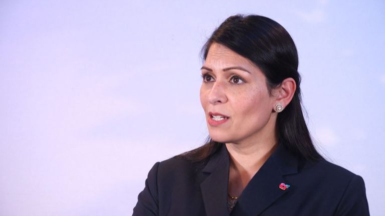 Home Secretary Priti Patel announced the UK terror threat level has moved from substantial to severe following the Vienna attack