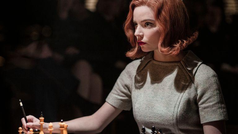 Anya Taylor-Joy in The Queen's Gambit. Pic: Netflix