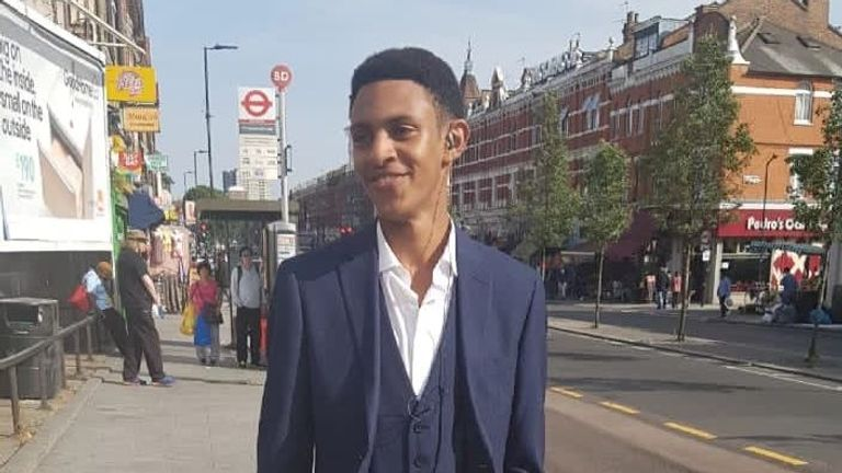 Ridwan is studying for his A levels and hopes to become an engineer