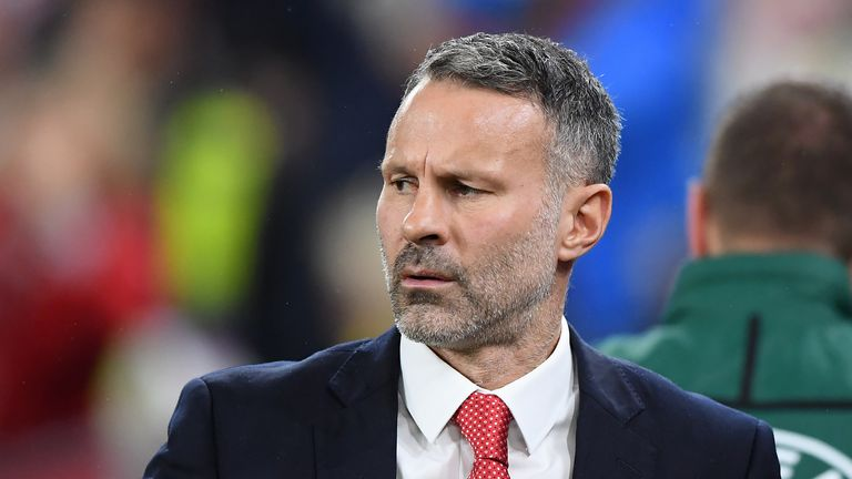 Giggs has been Wales manager since 2018