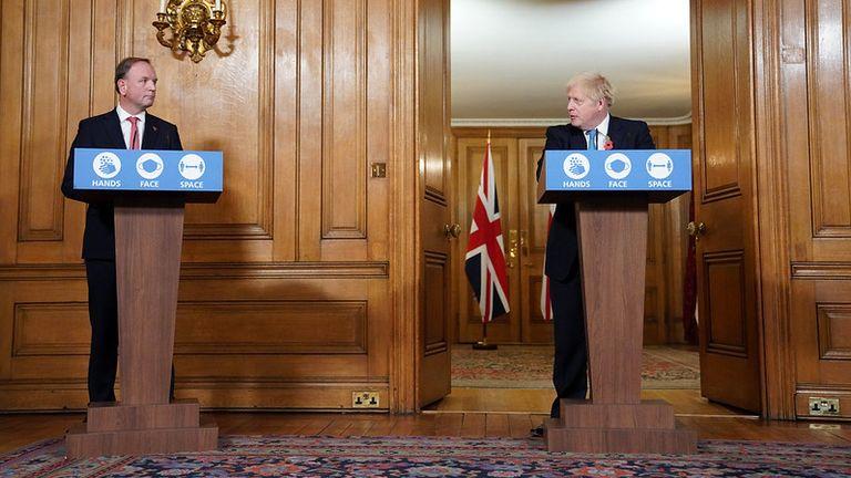 Sir Simon Stevens and Boris Johnson Pic: Pippa Fowles/ 10 Downing Street.