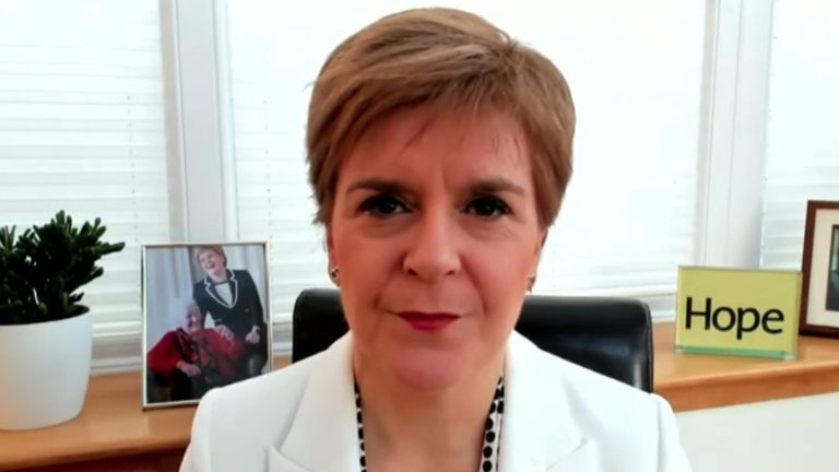 Sturgeon speaks at SNP conference