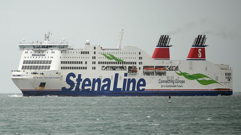Stena is among a number of ferry operators in the Irish Sea