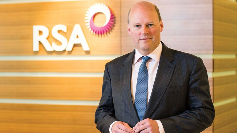 Stephen Hester, RSA's chief executive, is best-known for running RBS in the wake of the financial crisis. Pic: RSA