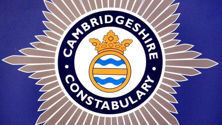 Stock picture of the Cambridgeshire Constabulary Badge.