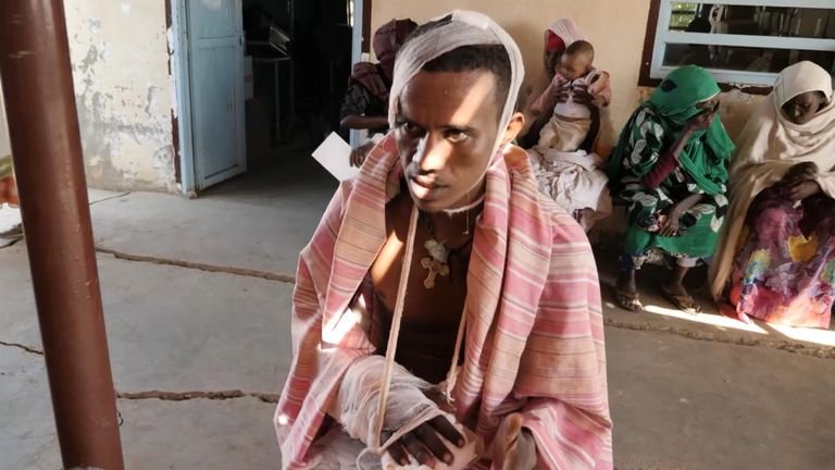 A man from Tigray said his neighbours tried to kill him by revealing his identity to fighters from another ethnic group