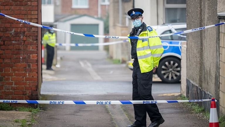 A 57-year-old man was shot dead on Summer Street. Pic: Daniel Jae Webb