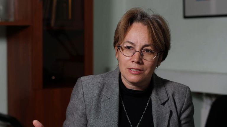 "Svetlana Zavidova said there is a ""rat race"" for a vaccine"