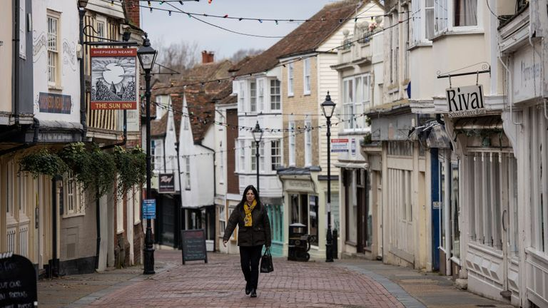 The borough of Swale in Kent, which includes Faversham, is the worst-hit area in England