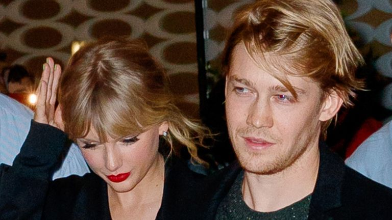 Taylor Swift and Joe Alwyn pictured in New York in October 2019