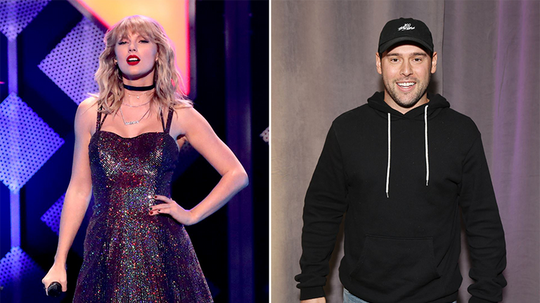 Taylor Swift's back catalogue has been sold on by Scooter Braun