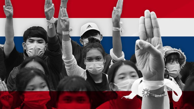 Protests have taken over many of Thailand's streets for months