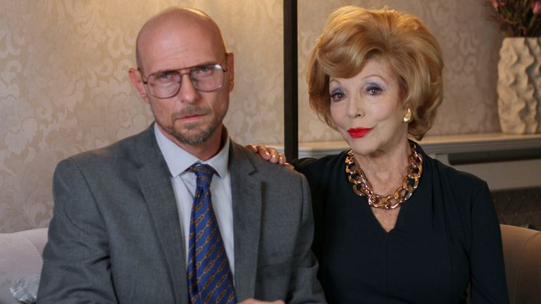 Luke Goss and Dame Joan Collins star in The Loss Adjuster
