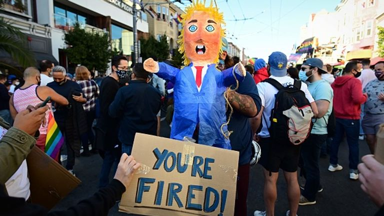 People in San Francisco sent Trump a simple message