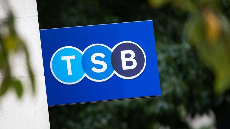 A TSB bank