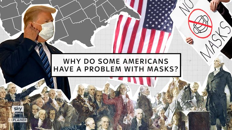 Why does the USA have a problem with masks?