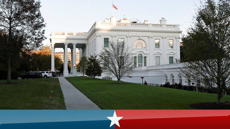 The White House on Election Day
