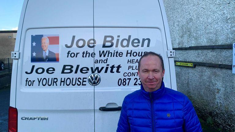 Joe Blewitt is related to Joe Biden
