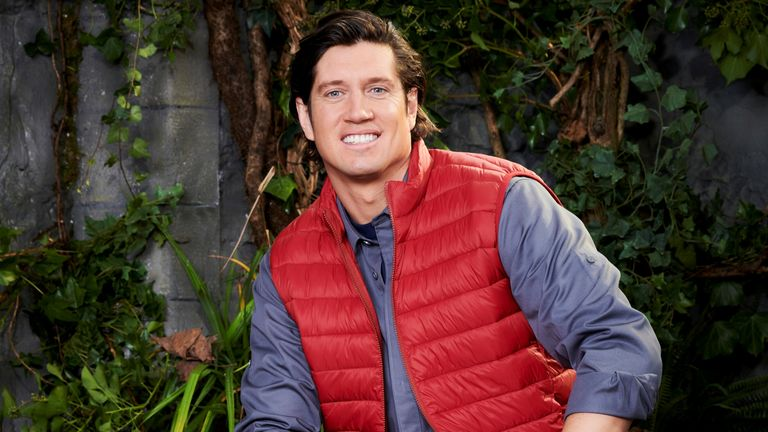I'm A Celebrity... Get Me Out Of Here! Vernon Kay. Pic: ITV