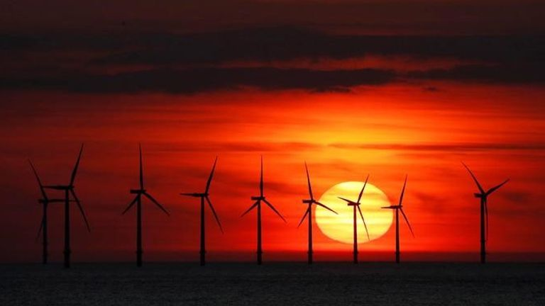 More offshore wind farms are seen as crucial to helping the UK meet its green ambitions