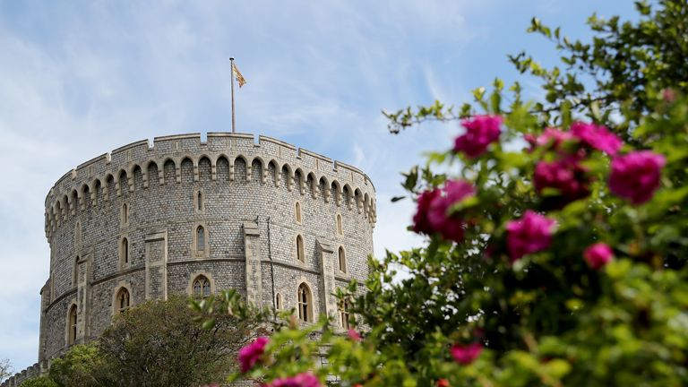 Windsor Castle has been dubbed 'HMS Bubble' by the Royal Household