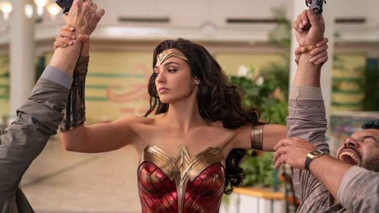 Gal Gadot will reprise her role as Wonder Woman in the new film. Pic: Warner Bros Pictures