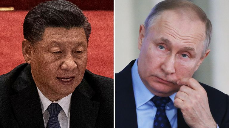 Chinese President Xi Jinping and Russia's President Vladimir Putin are among those yet to congratulate Mr Biden
