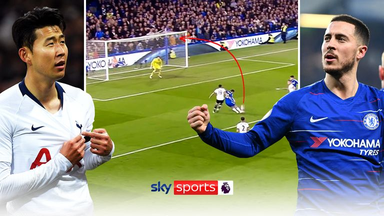 Ahead of their meeting on Sunday, we take a look at some of the greatest goals between Chelsea and Tottenham in the Premier League.