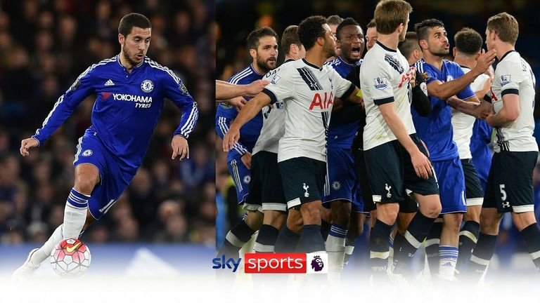 We take a trip back to 2016 and a historic night at Stamford Bridge when emotions were running high between title-chasers Tottenham and London rivals Chelsea