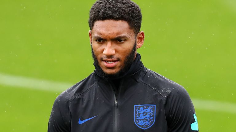 Manager Gareth Southgate says that it is too early to speculate on the extent of Joe Gomez's injury suffered in training.