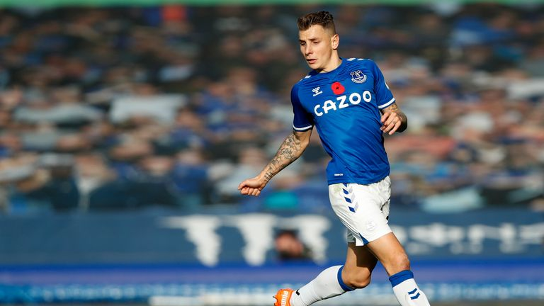 Carlo Ancelotti is confident Everton can manage without the injured Lucas Digne and believes the Frenchman is one of the best left-backs in Europe.