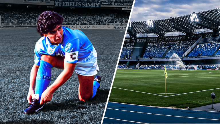 The Stadio San Paolo is set to be renamed after Diego Maradona