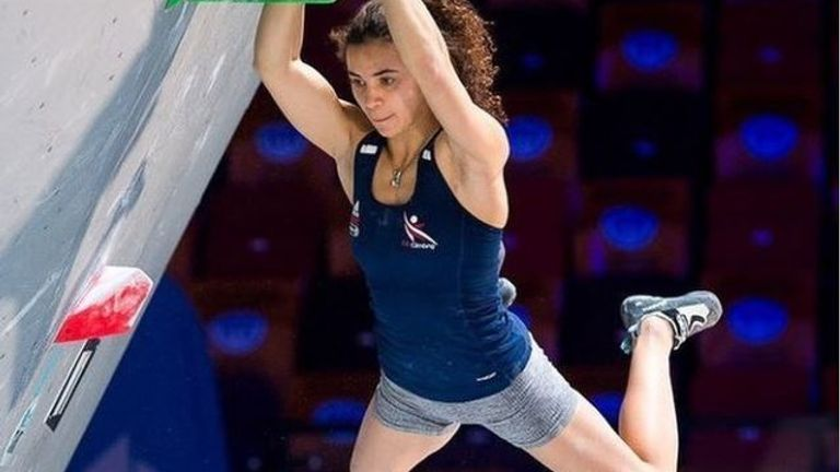 Molly Thompson-Smith: British climber into European Championship finals, Olympic spot in balance | Olympics News