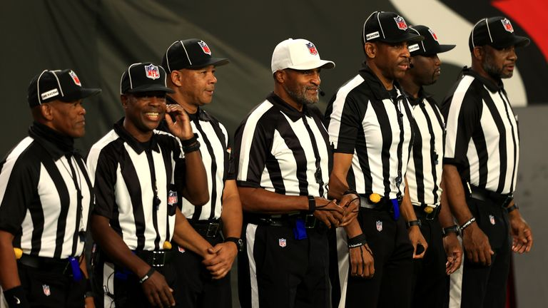 Jerome Boger lead the history-making team of officials
