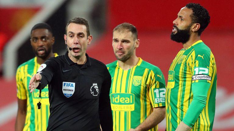 Referee David Coote
