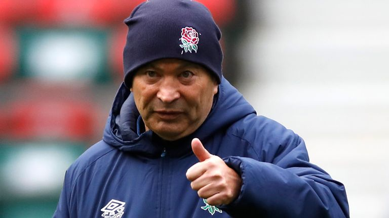 Eddie Jones: England coach says Ireland is their most important game of the year