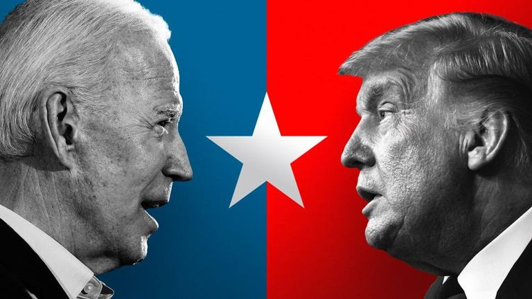 Sky News election Donald Trump Joe Biden